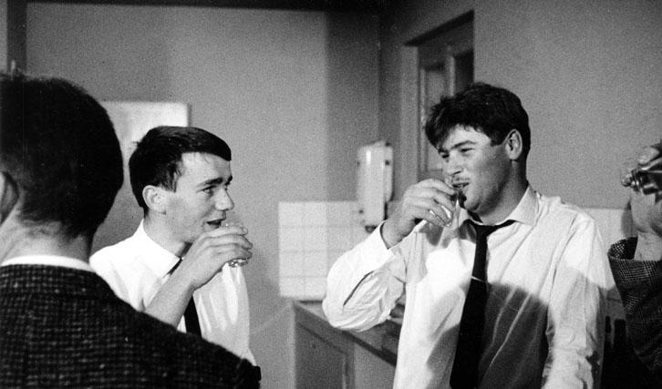 """Zusammenarbeit mit Alain Tanner: """"Die Lehrlinge"""" (1964)"""