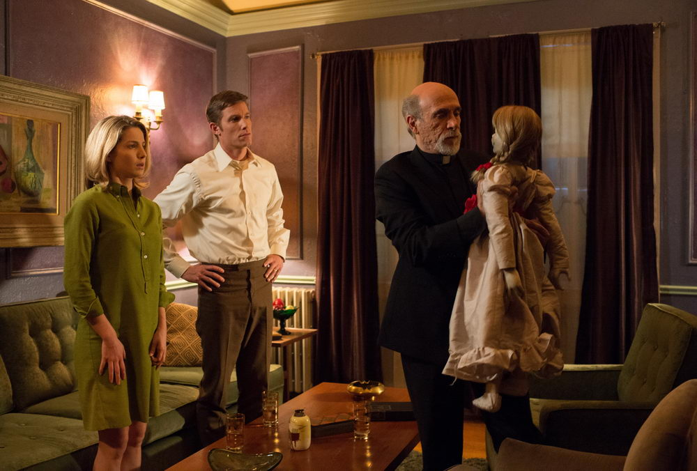 Annabelle Wallis, Ward Horton, Tony Amendola