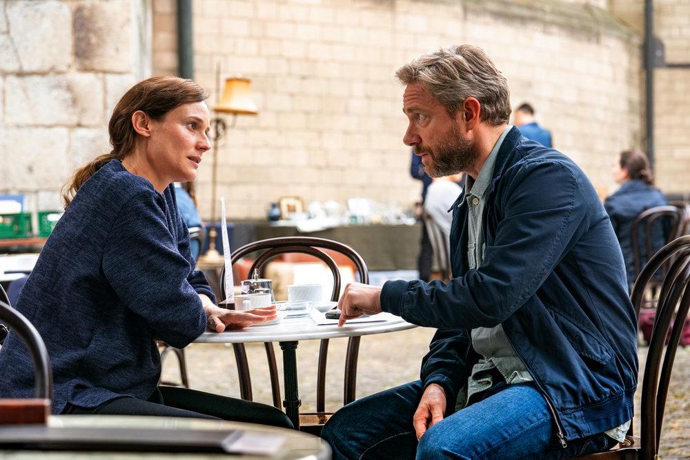 """Martin Freeman und Diane Kruger in """"Die Agentin"""" (© Weltkino)"""