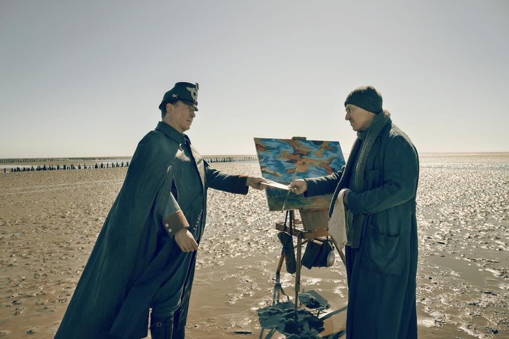 Kontrahenten: Ulrich Noethen (l.) als Polizist Jepsen und Tobias Moretti (r.) als Maler Nansen