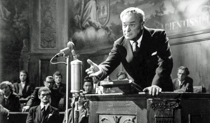 """Erhellender Einblick in die Kontinuität der Nazi-Ideologie im Nachkriegsdeutschland: """"Der Ruf""""."""