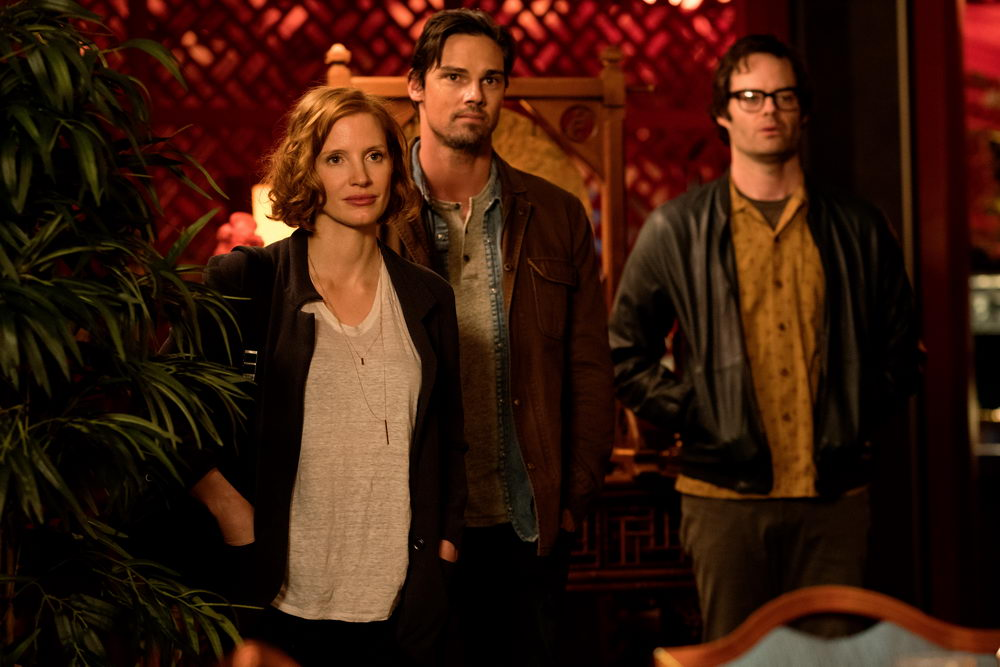 Jessica Chastain, Jay Ryan, Bill Hader