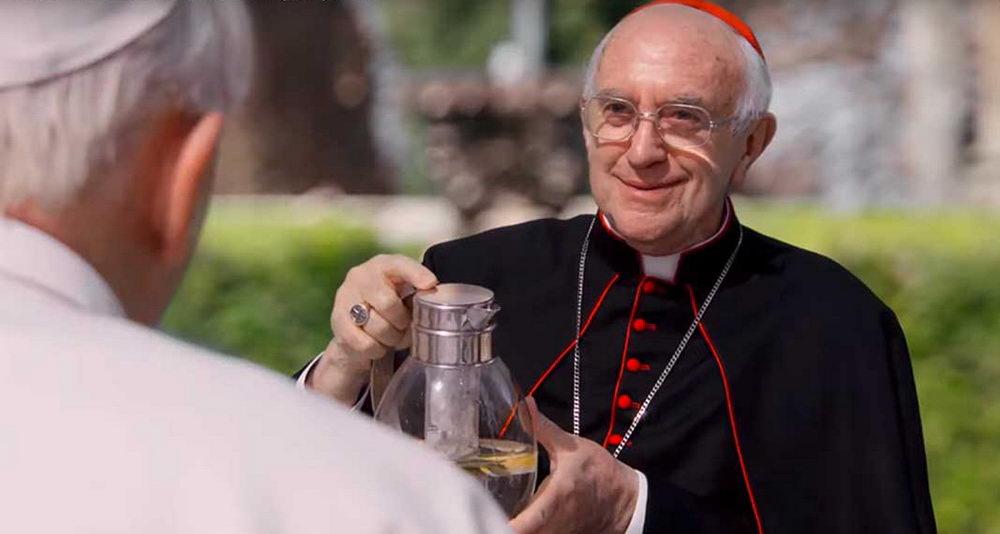 Jonathan Pryce als Kardinal Bergoglio