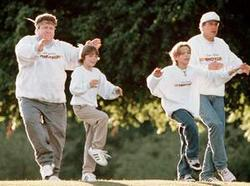 Chevy Chase, Jonathan Taylor Thomas, George Wendt, Zachary Browne
