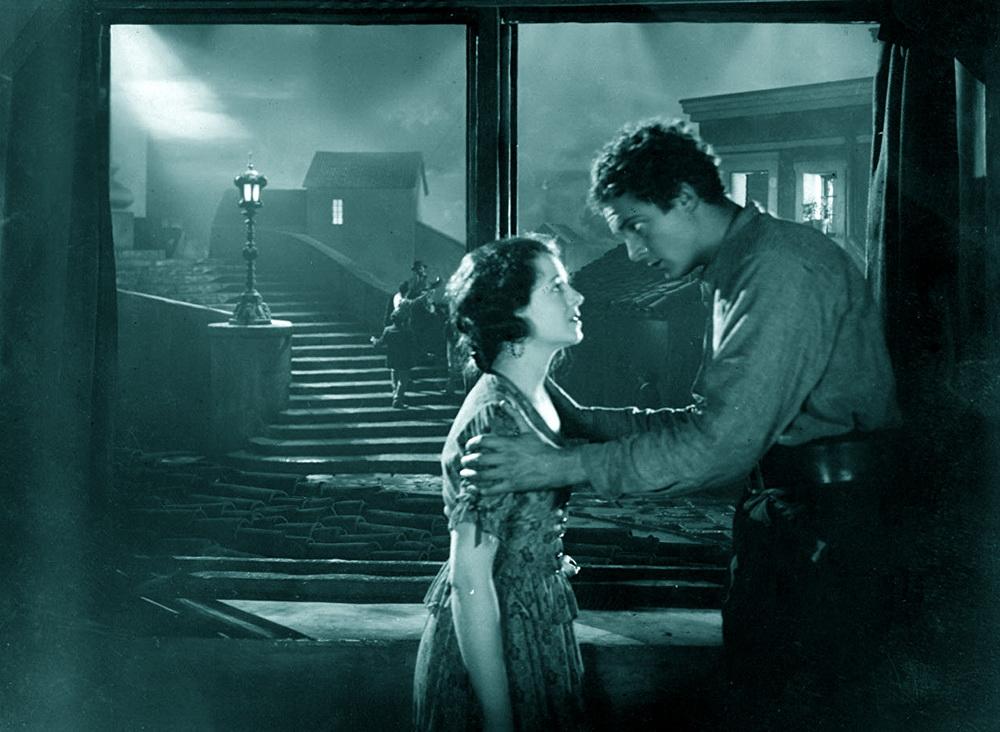 """""""Street Angel"""" (1928) mit Janet Gaynor und Charles Farrell"""