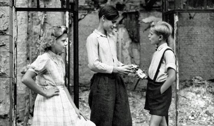 """Der Filmkanon (hier """"Deutschland im Jahre Null"""") war von Beginn an umstritten."""