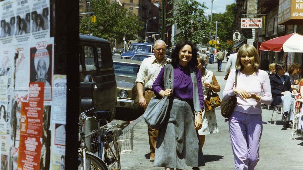 Katja Raganelli (r.) unterwegs mit Barbara Loden (l.)