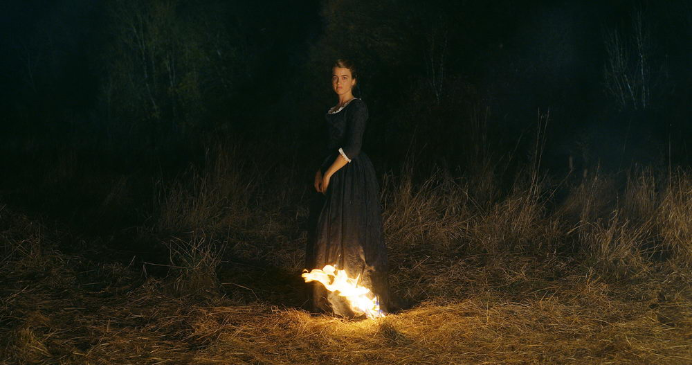 """Ein ikonisches Juwel: """"Porträt einer jungen Frau in Flammen"""""""