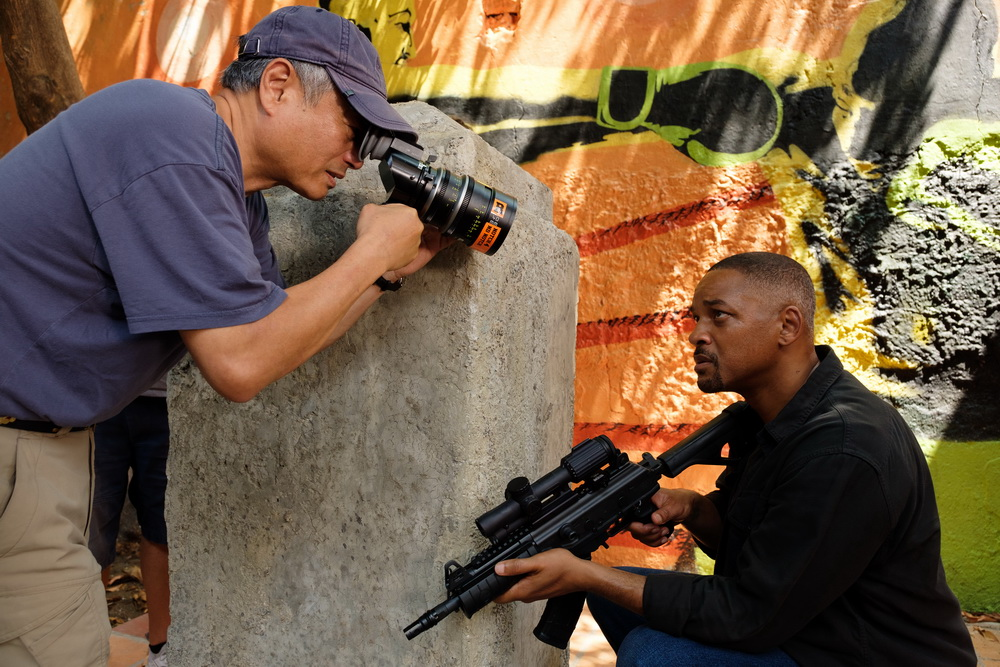 Will Smith mit Regisseur Ang Lee