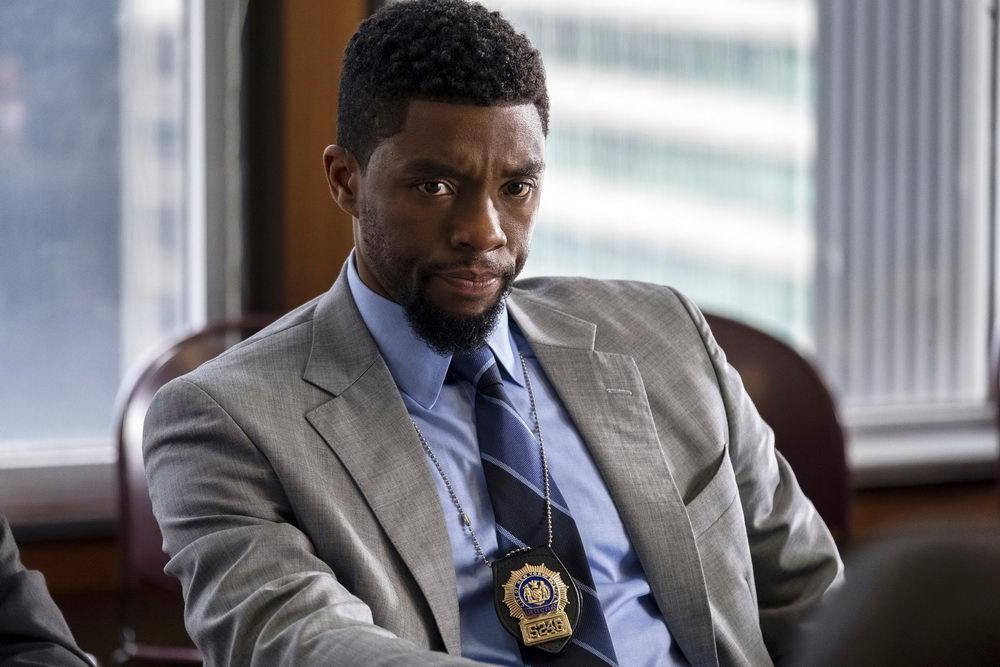 """Machte auch als Cop eine gute Figur: Chadwick Boseman in """"21 Bridges"""" (Concorde)"""