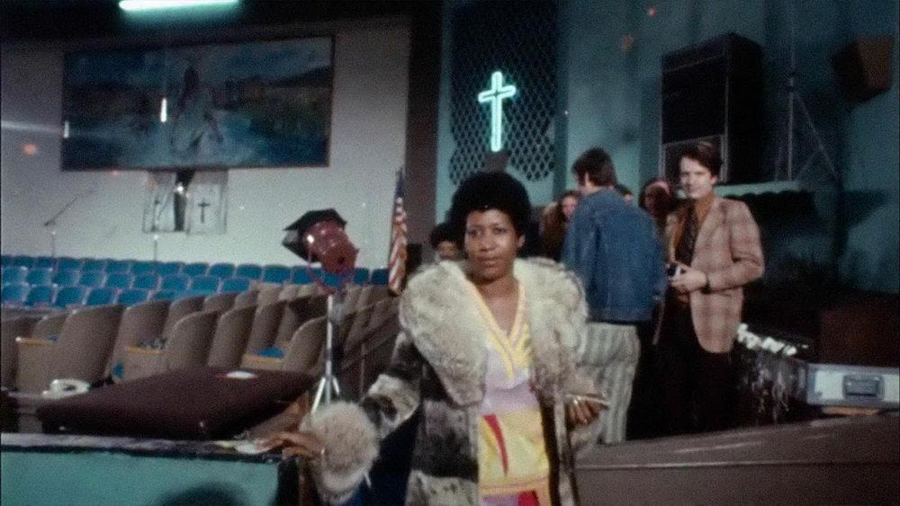 """Für """"Aretha Franklin: Amazing Grace"""" wurde bewusst eine Kirche für die Aufzeichnung gewählt."""