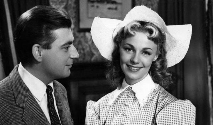"""Französische Antwort auf amerikanische Screwball-Komödien: """"Sie und er"""" zusammen mit Dany Robin."""