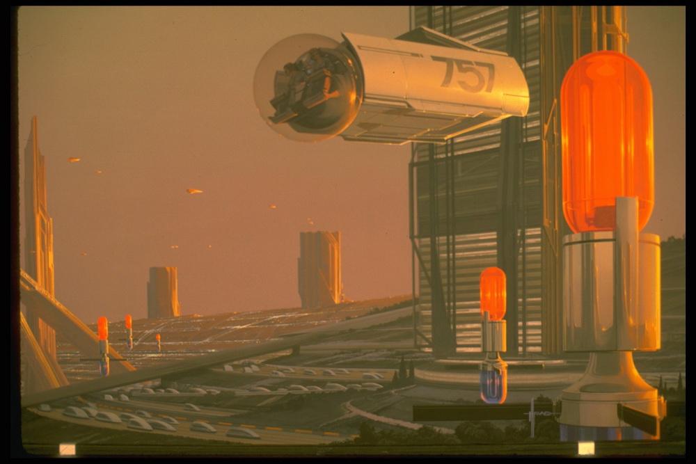 Future Urban Architecture © Syd Mead, 1979