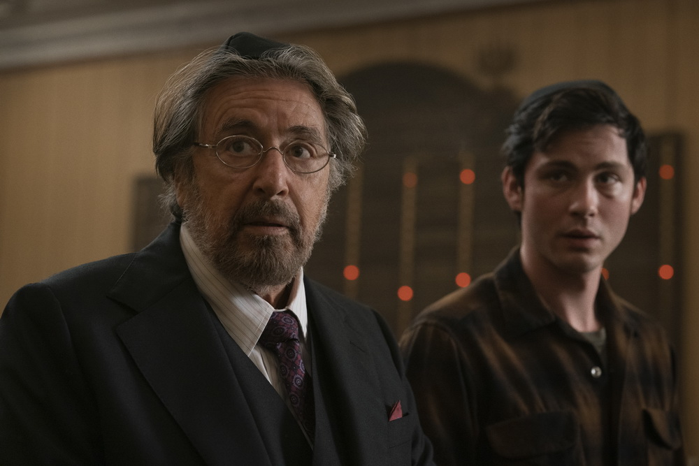 "Auf Nazi-Jagd: Al Pacino und Logan Lerman in ""Hunters"""