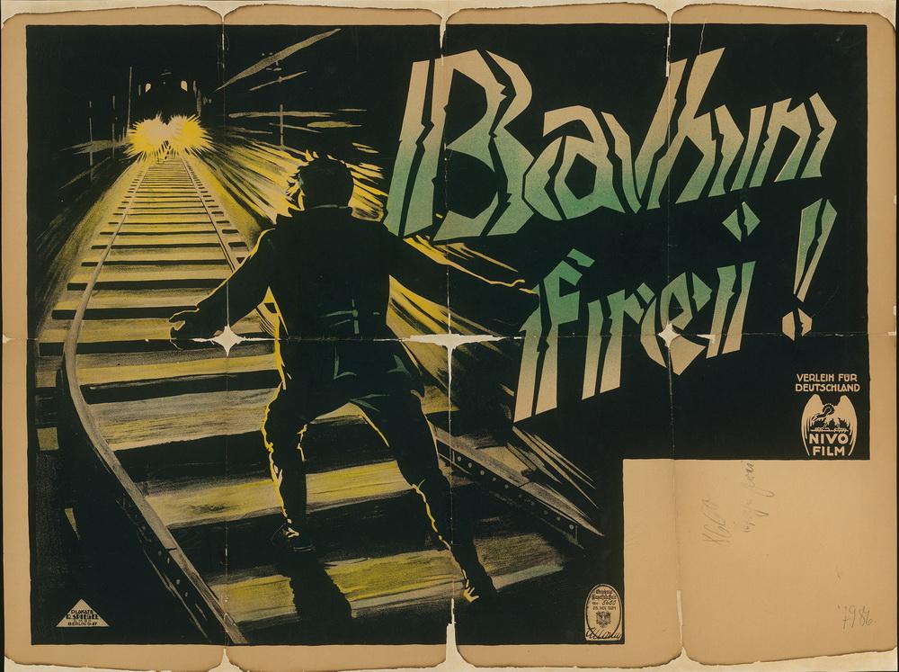 """A Question of Honor (Bahn frei!)"", USA 1922, Regie: Edwin Carewe ©Deutsche Kinemathek - Grafikarchiv"