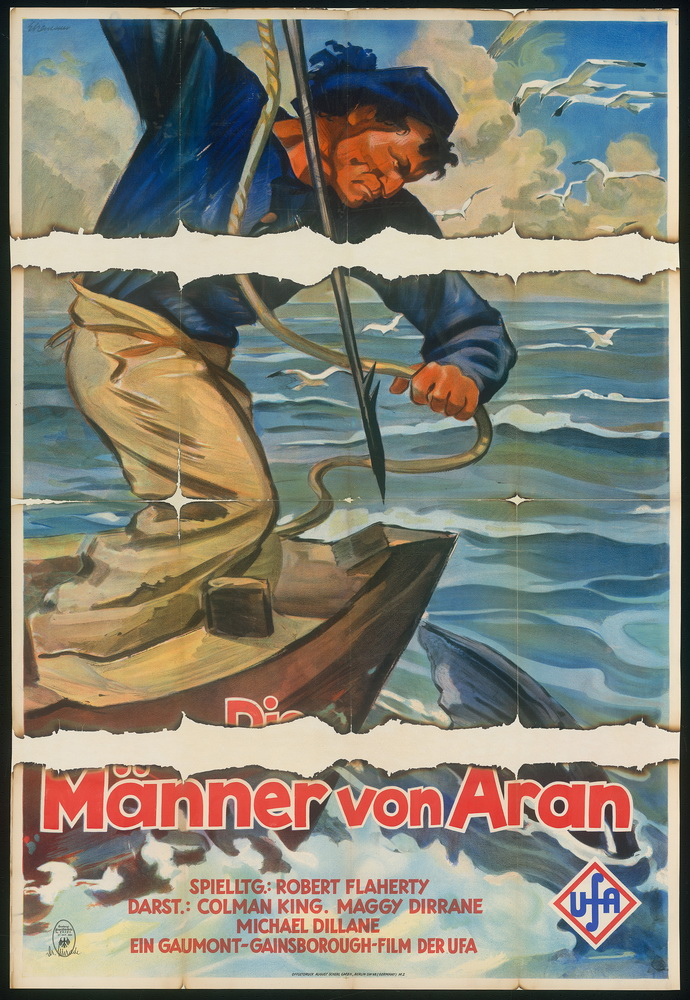 """""""Man of Aran (Die Männer von Aran)"""", Großbritannien 1934, Regie: Robert J. Flaherty ©Deutsche Kinemathek - Grafikarchiv"""