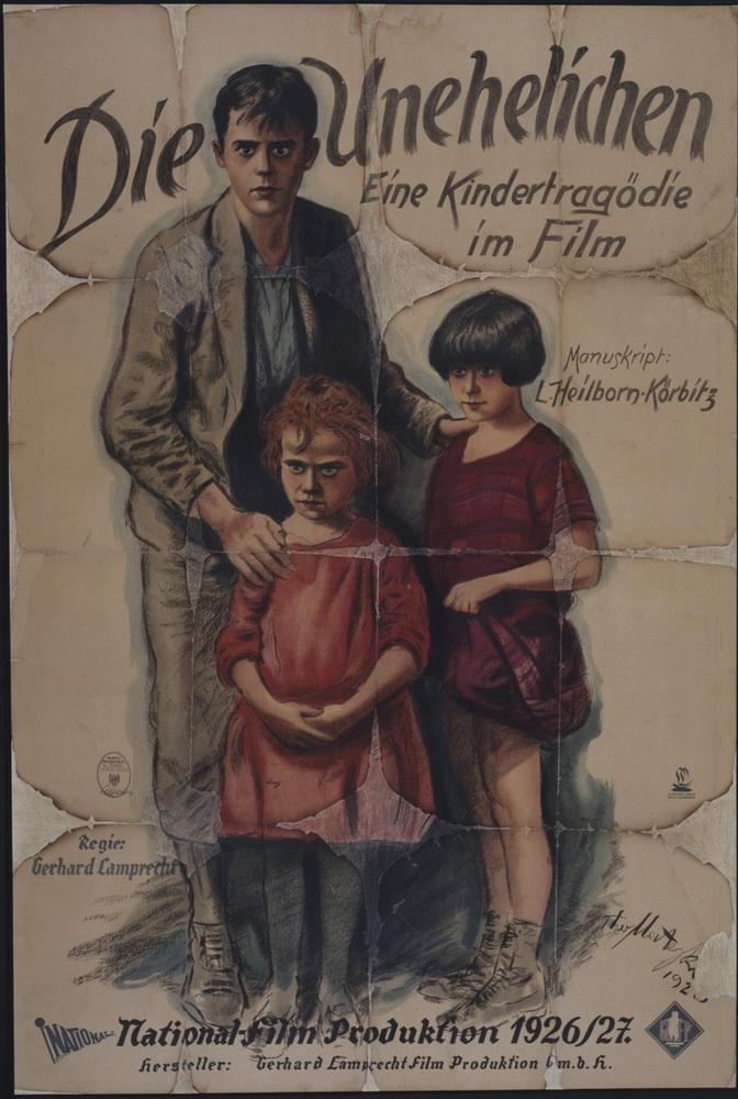 """""""Die Unehelichen"""", Deutschland 1926, Regie: Gerhard Lamprecht ©Deutsche Kinemathek - Grafikarchiv"""