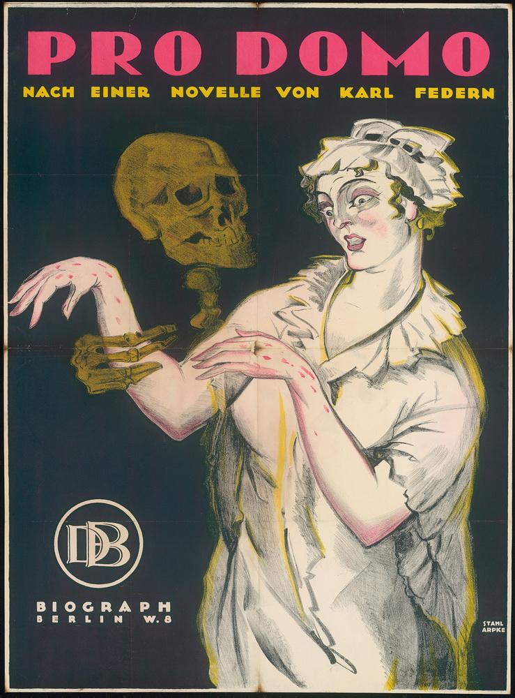 """""""Pro Domo"""", D 1919, Regie: Paul von Woringen ©Deutsche Kinemathek - Grafikarchiv"""