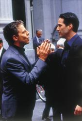 Keanu Reeves, Greg Germann