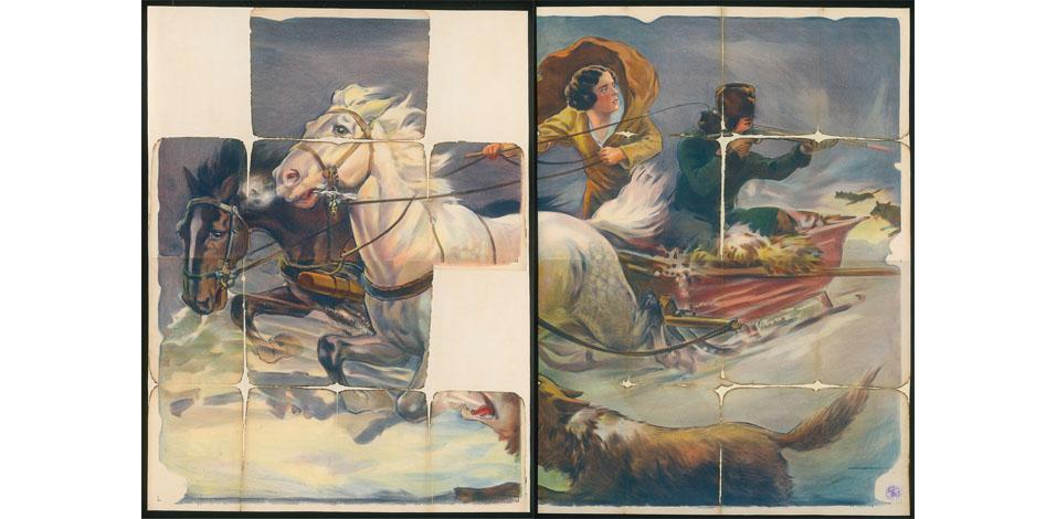 Siberia (Sibirien am Vorabend der russischen Revolution) USA 1926, Regie: Victor Schertzinger Quelle: Deutsche Kinemathek – Grafikarchiv