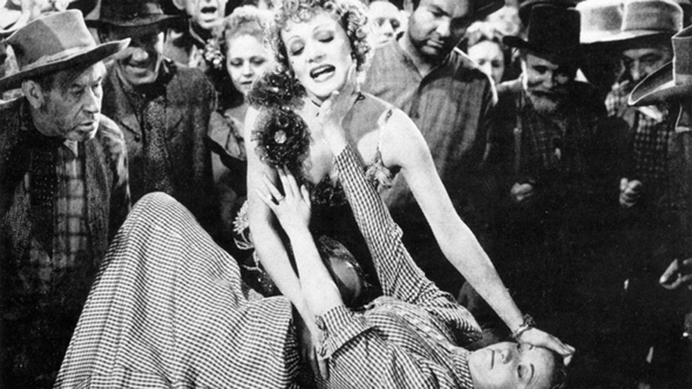 """Eine andere Geschichte: """"Der große Bluff"""" mit Marlene Dietrich und Una Merkel"""