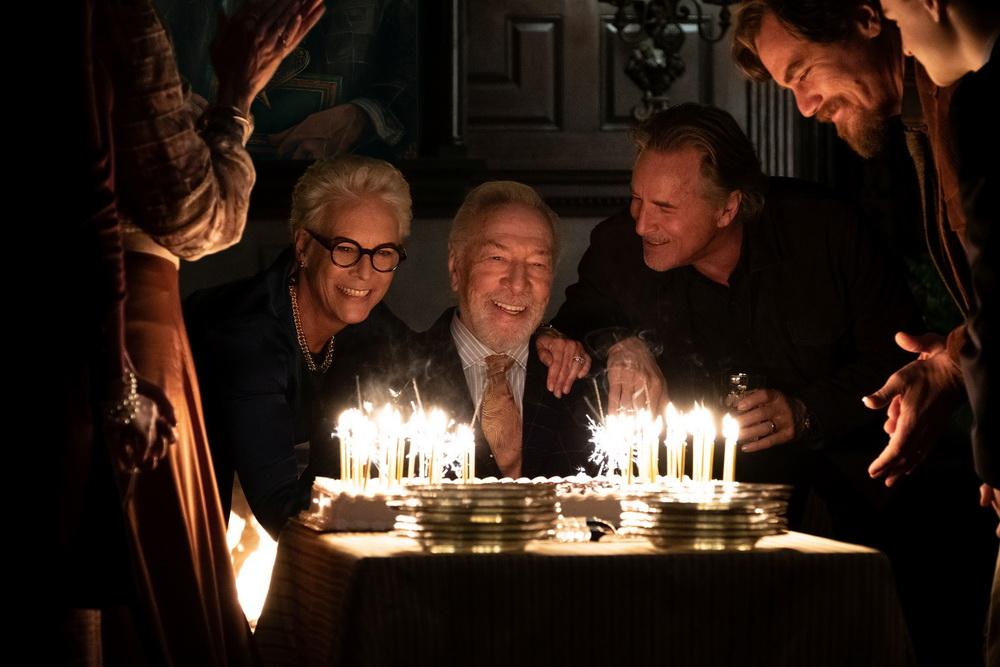 """Als Familienpatriarch im Star-Ensemble von """"Knives Out"""" glänzte Christopher Plummer noch 2019 (© Universum/Concorde)"""