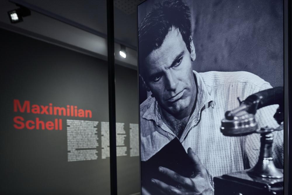 Aus der Maximillian-Schell-Ausstellung © Deutsches Filminstitut