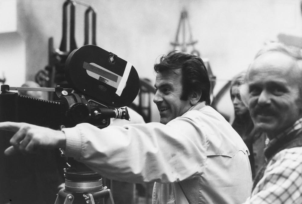 """Schell hinter der Kamera: Beim Dreh zu """"Der Fußgänger"""" (1972)"""