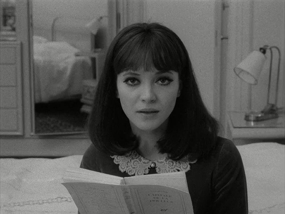 """Anna Karina in """"Alphaville"""" von Jean-Luc Godard."""