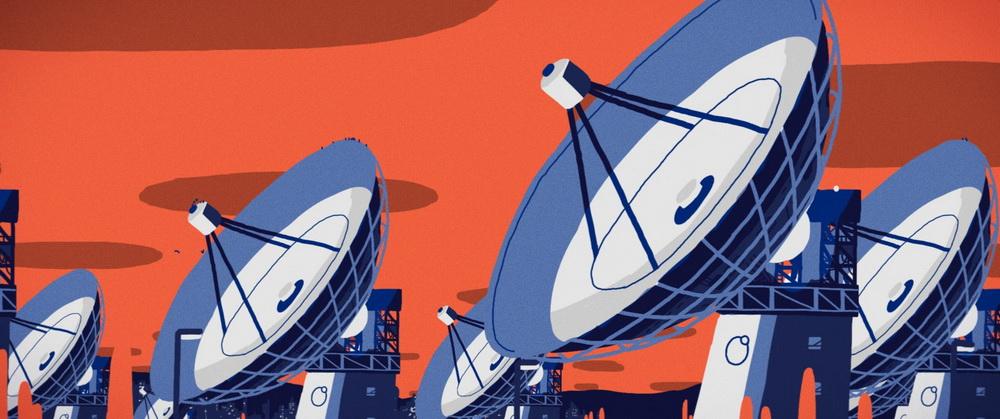 """Ein Schweizer Kurzfilm aus dem Programm in Solothurn: In """"The Lonely Orbit"""" verlässt ein Satellitentechniker für seinen Traumjob seine Heimat und sucht durch ständige Kurznachrichten  an seine alten Freunde Trost (© Solothurnere Filmtage)"""