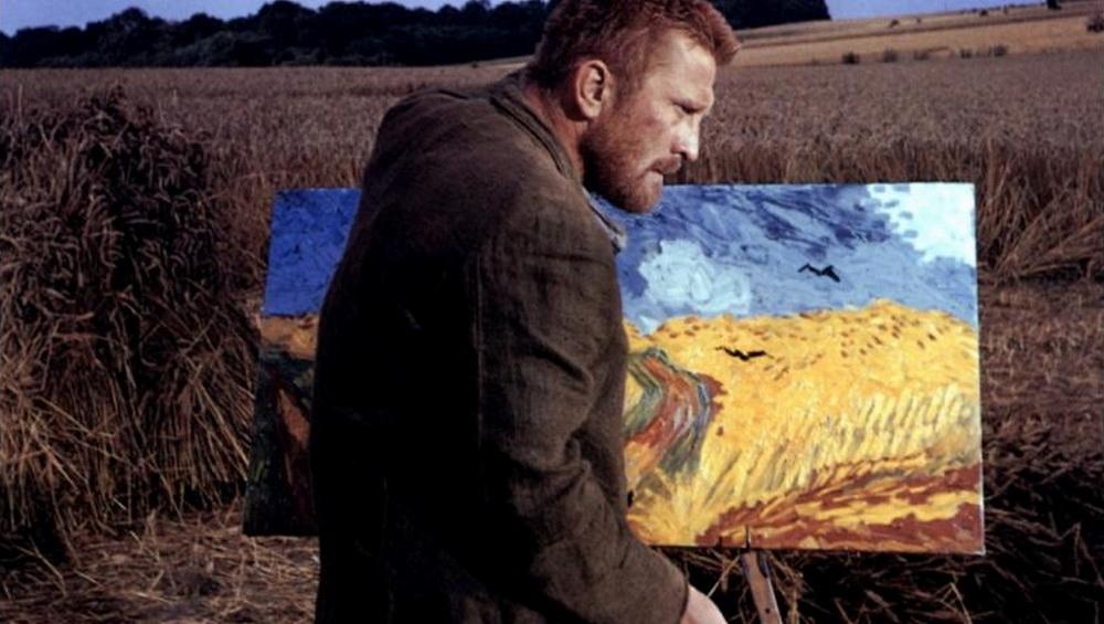 """Ungewohnt, aber sehr effektvoll als getriebener Vincent Van Gogh in """"Ein Leben in Leidenschaft""""."""