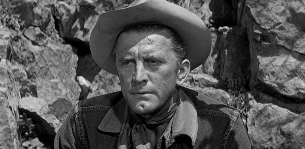 """Als von der Zeit überholter Cowboy in """"Einsam sind die Tapferen""""."""