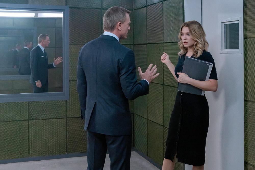 """Daniel Craig und Léa Seydouy in """"Keine Zeit zu sterben"""" (Universal Pictures)"""