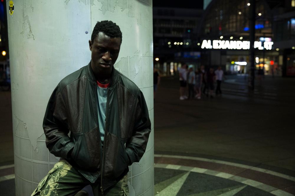 Lost in Berlin: Welket Bungué (© Entertainment One)