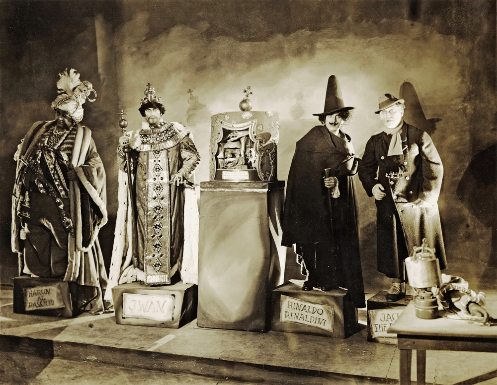 Conrad Veidt, Emil Jannings, Werner Krauss, William Dieterle