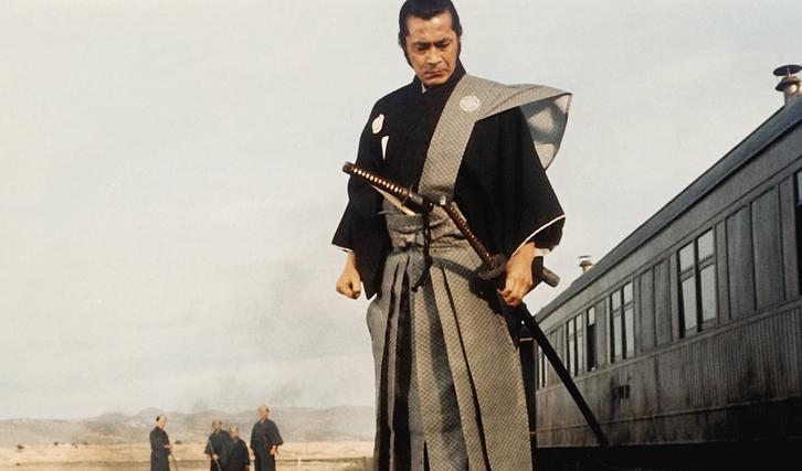 """Einer von Mifunes Ausflügen ins Internationale: Der Western """"Rivalen unter roter Sonne"""" (1970) © Warner-Columbia"""