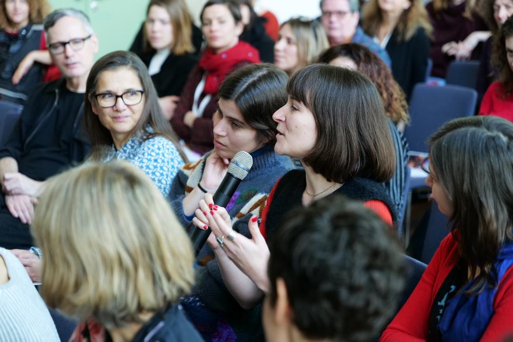 Netzwerken und Austauschen: Beim IFFF-Panel (