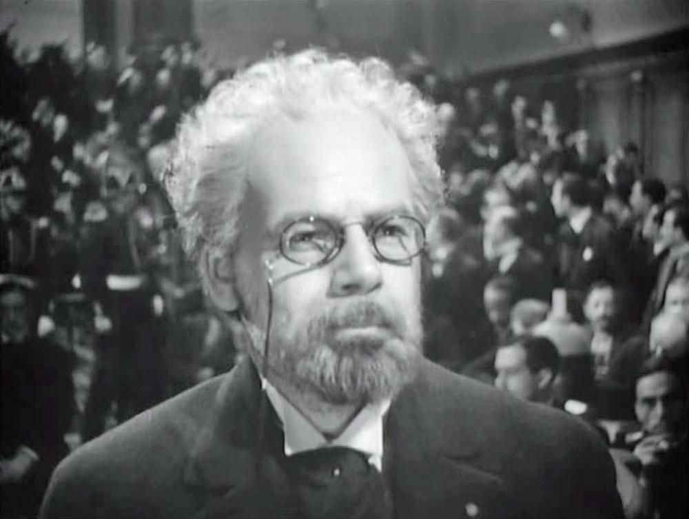 """Einer der großen Erfolge von Warners Filmbiografien der 1930er: Paul Muni in """"Das Leben des Emile Zola"""" © Warner Bros."""
