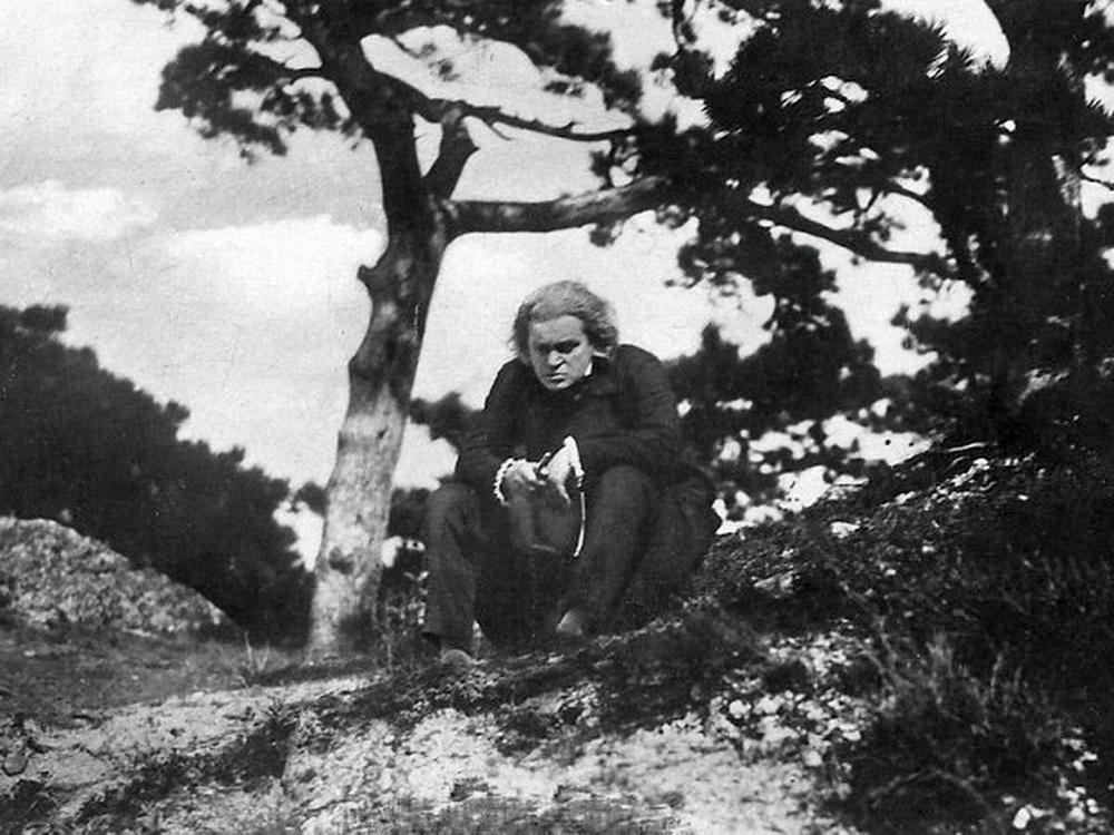 """Das leidende Genie: fritz Kortner in """"Beethoven"""" (© Foerderverein-Filmkultur-Bonn-e.V.)"""