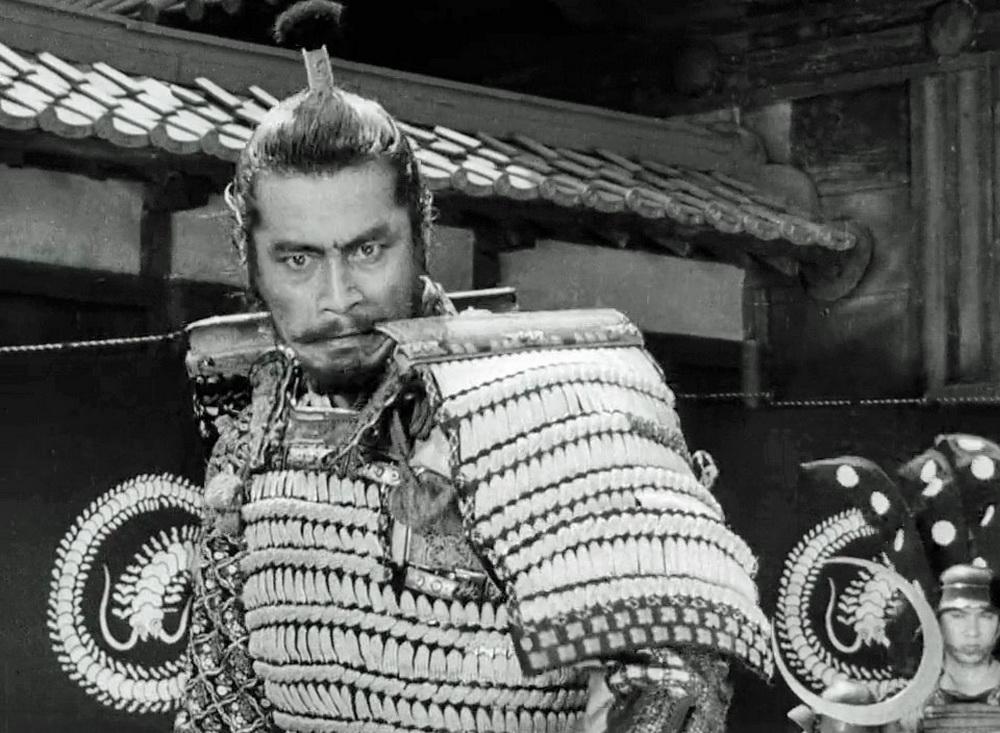 """Eine tragische Rolle von Shakespeare'schem Format spielt Mifune in """"Das Schloss im Spinnwebwald"""" © KSM"""