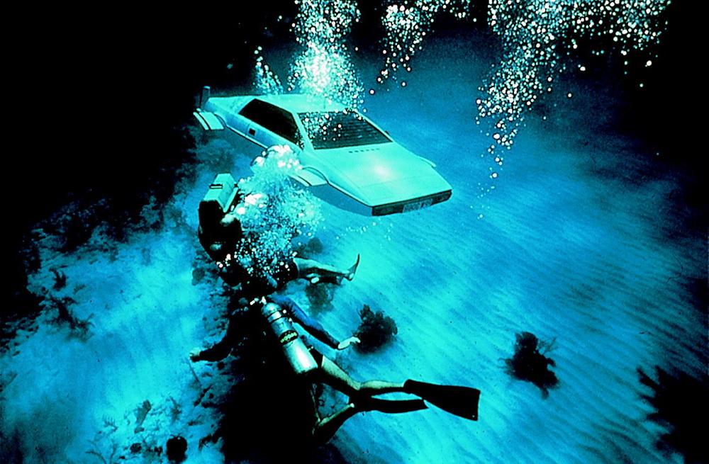 """Unterwasserauto in """"Der Spion, der mich liebte"""" © Fox"""