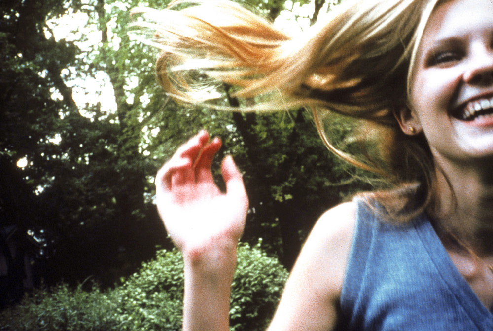 "Schwer greifbar: Kirsten Dunst in ""Virgin Suicides"""