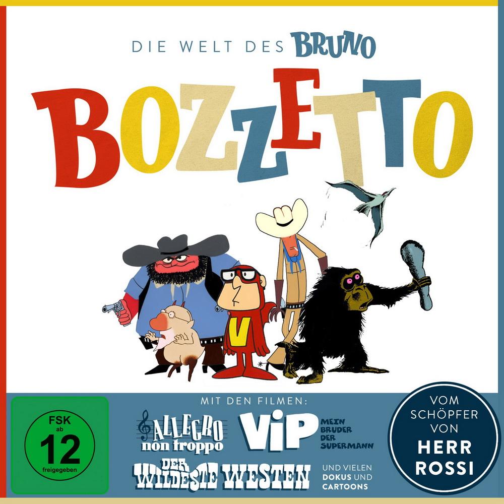 """Die """"Bruno Bozzetto""""-Box von Koch Media"""