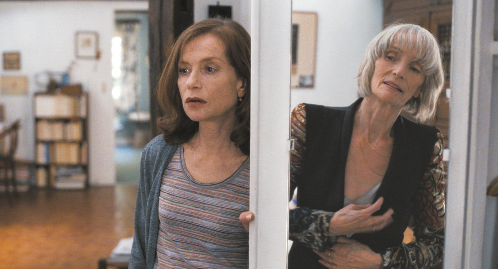 Isabelle Huppert mit Film-Mutter Edith Scob