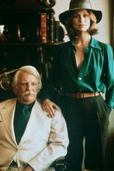 Lauren Hutton, Denver Pyle