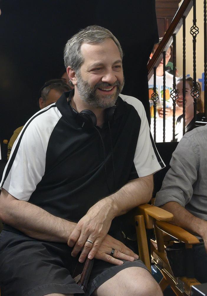 "Judd Apatow beim Dreh von ""The King of Staten Island"" (© Universal Pictures International Germany GmbH)"
