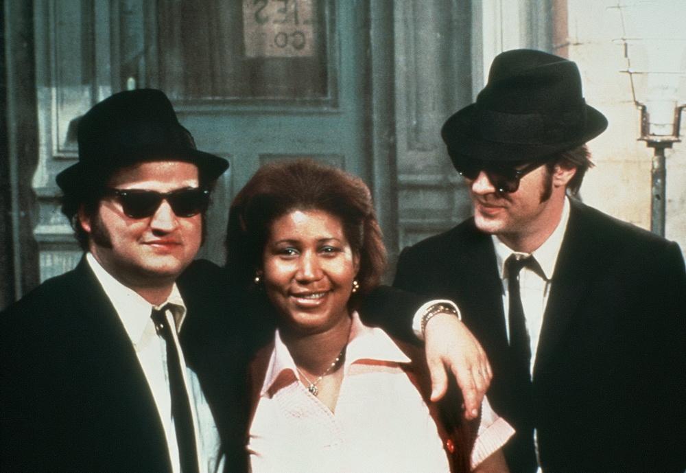 Die Jungs mit Aretha Franklin (© Universal Pictures International)