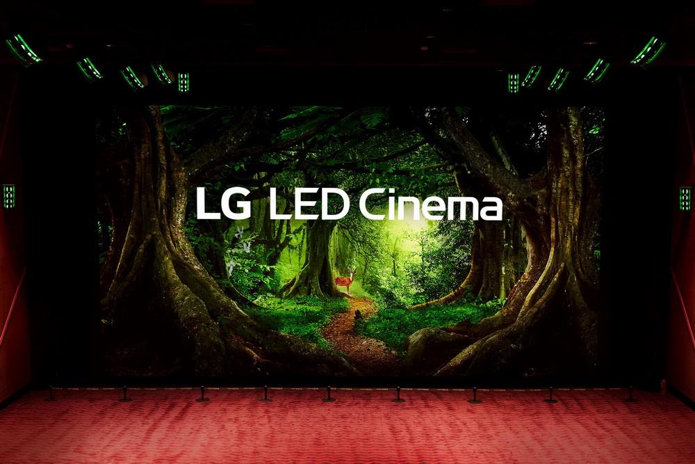 Das LG LED Cinema Display soll mit scharfem Bild und starker Tonqualität für einmalige Erlebnisse sorgen (© LG Electronics)