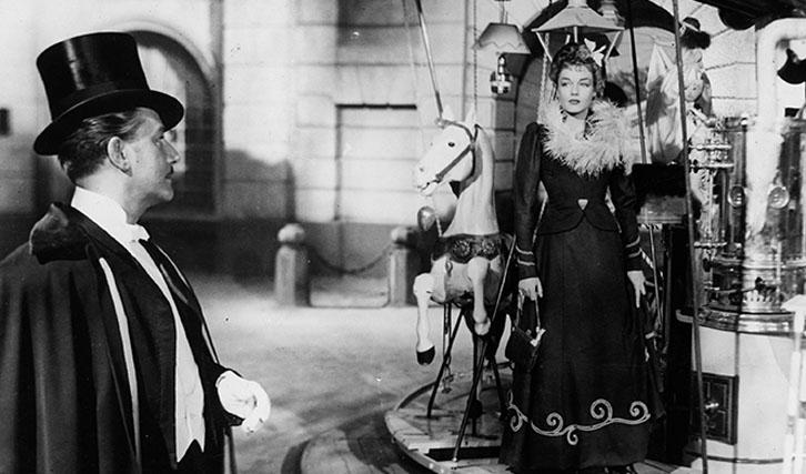 """Mit Simone Signoret in """"Der Reigen"""""""