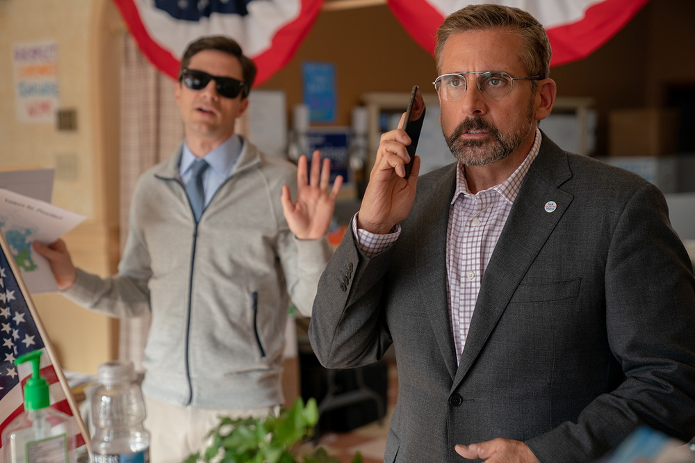 Topher Grace, Steve Carell
